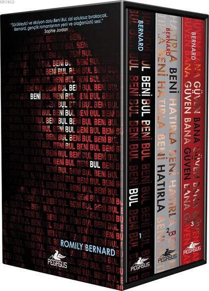 Beni Bul Serisi (3 Kitap Takım); Kutulu Özel Set