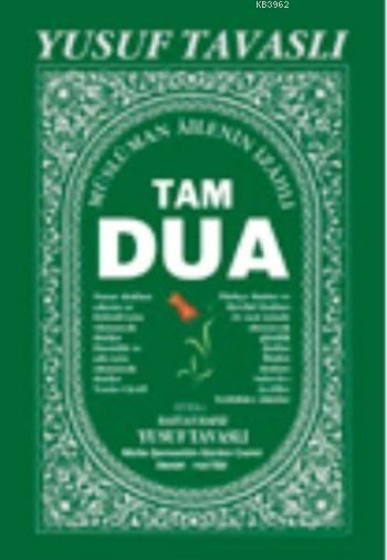 Tam Dua (Cep Boy); (Peygamberimizin Dilinden Duâlar, Ciltli)