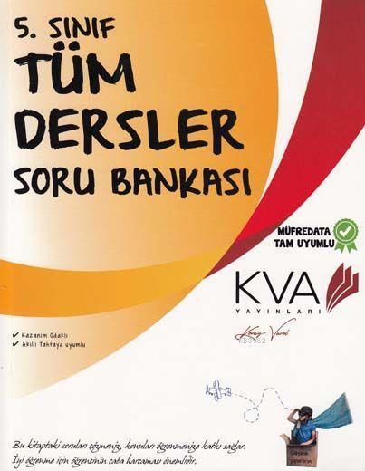 KVA Yayınları 5. Sınıf Tüm Dersler Soru Bankası