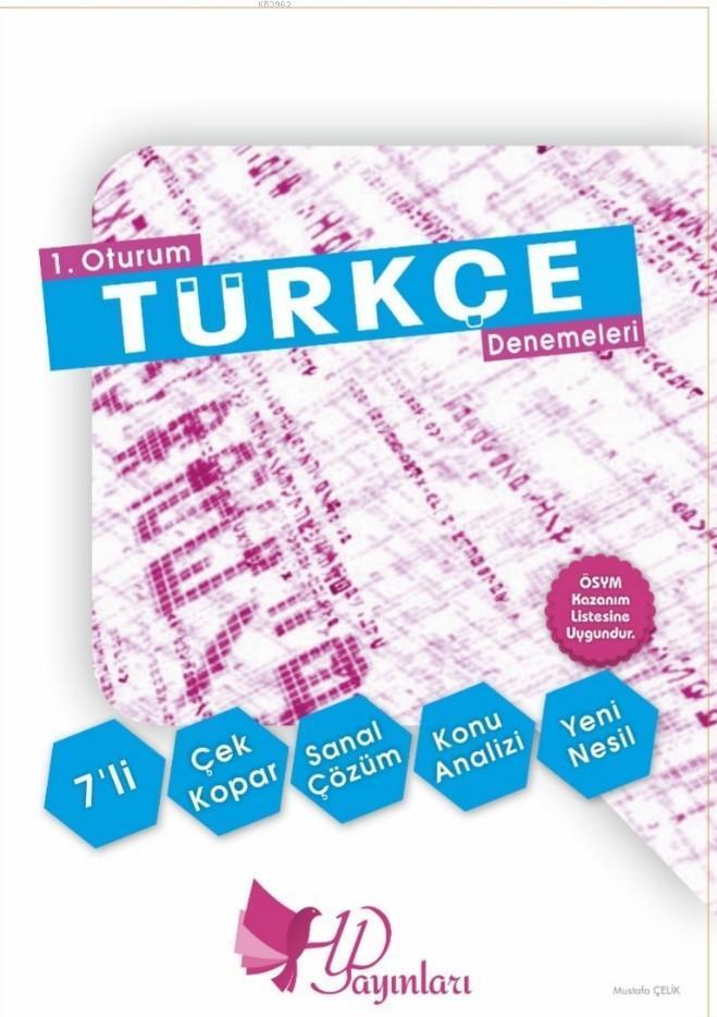 HYD TYT Türkçe 7 Deneme Yeni