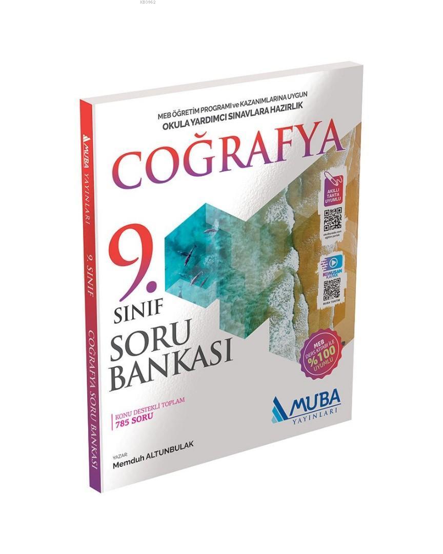 Muba Yayınları 9. Sınıf Coğrafya Soru Bankası Muba