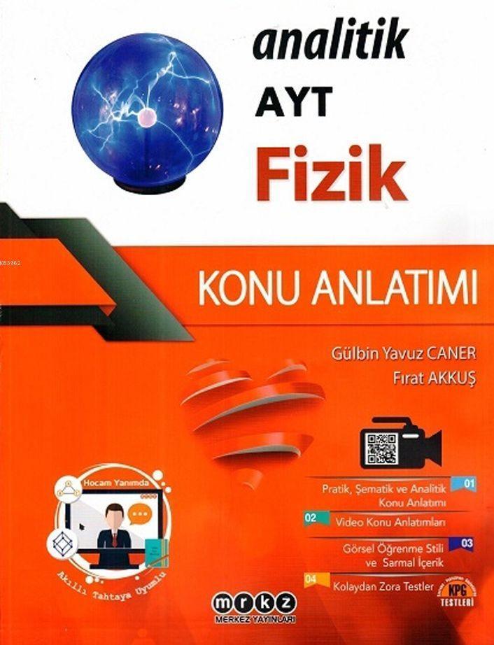Merkez Yayınları AYT Fizik Analitik Konu Anlatımı Merkez