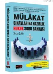 Mülakat Sınavlarına Hazırlık Hukuk Soru Bankası