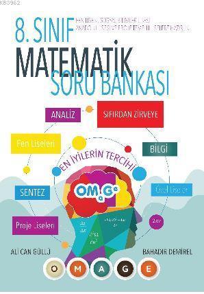 8. Sınıf Omage Fen Liselerine Hazırlık Matematik Soru Bankası