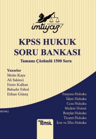 İmtiyaz KPSS Hukuk Soru Bankası