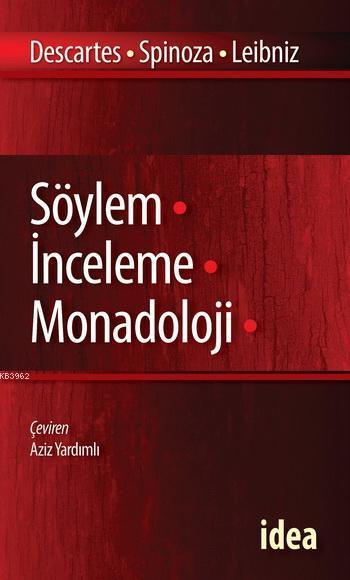 Söylem - İnceleme - Monadoloji