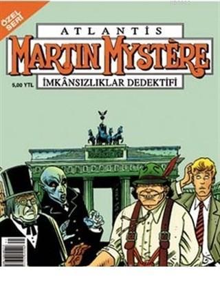 Atlantis (Özel Seri) Sayı:43 Doktor Mystere ve Lanetli Şatodaki Dehşet Martin Mystere İmkansızlıklar Dedektifi