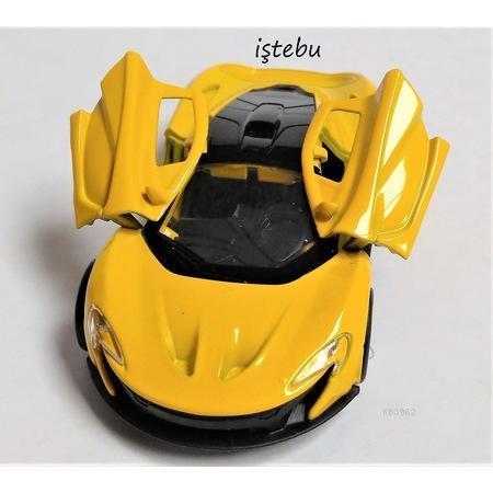 Tigoes Toys Çek Bırak Metal Araç  F1109