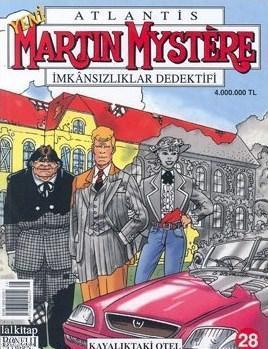 Martin Mystere İmkansılıklar Dedektifi Sayı: 28 Kayalıktaki Otel