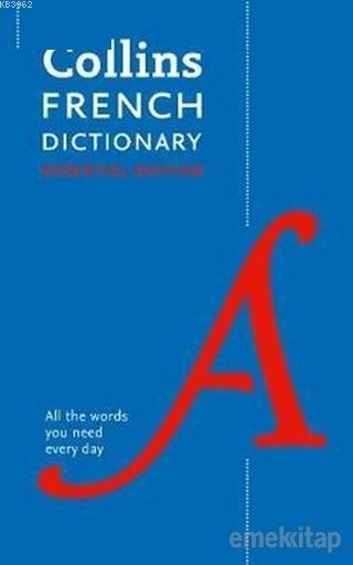 Collins French Dictionary All The Words You Need Every Day