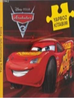 Disney Arabalar 3 - Yapboz Kitabım