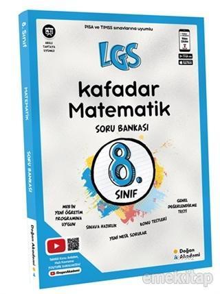 8. Sınıf LGS Kafadar Matematik Soru Bankası