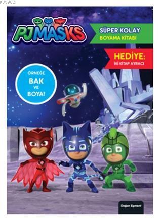Pjmasks - Süper Kolay Boyama Kitabı