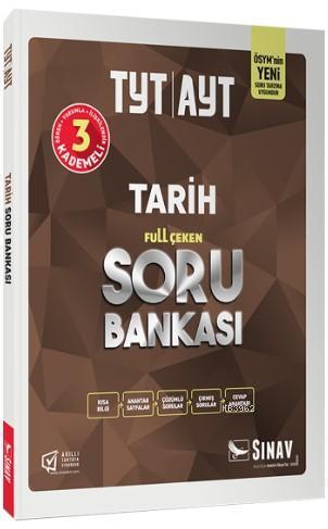 Sınav Dergisi Yayınları TYT AYT Tarih Full Çeken Soru Bankası Sınav Dergisi