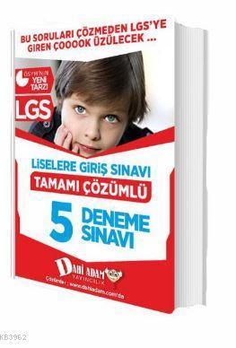 LGS 5 Deneme Sınavı Tamamı Çözümlü