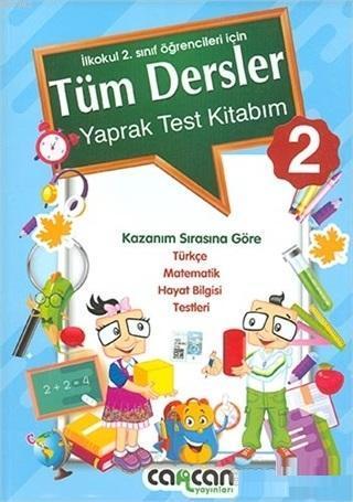 2. Sınıf Tüm Dersler Yaprak Test Kitabım