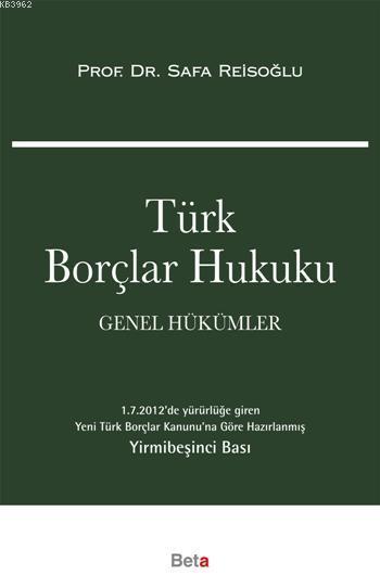 Türk Borçlar Hukuku