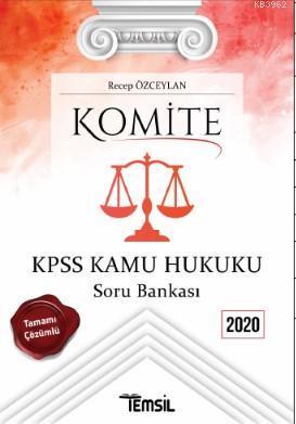 Komite KPSS Kamu Hukuku Soru Bankası