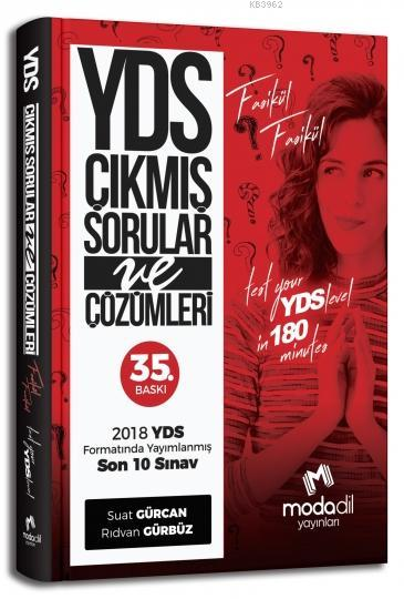 YDS Fasikül Fasikül Çıkmış Son 10 Sınav ve Çözümleri Modadil Yayınları