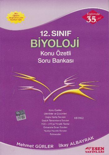 12. Sınıf Biyoloji Konu Özetli Soru Bankası