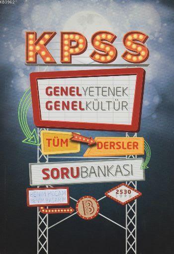 KPSS Genel Yetenek Genel Kültür Soru Bankası 2017