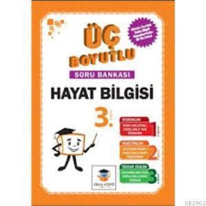Zekaküpü - 3.Sınıf Hayat Bilgisi Üç Boyutlu Soru Bankası