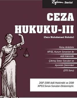 Ceza Hukuku - III (Ceza Muhakemesi Hukuku)