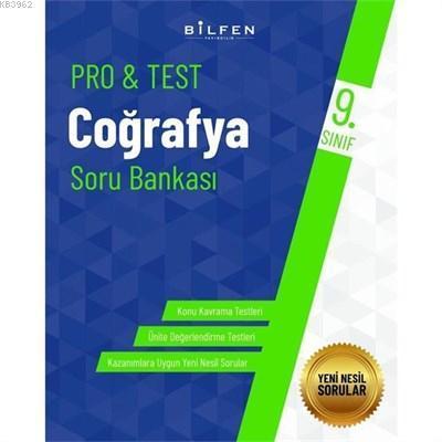 Bilfen Yayıncılık 9. Sınıf Pro&Test Coğrafya Soru Bankası
