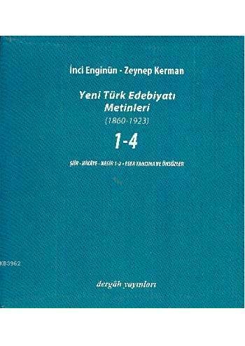 Yeni Türk Edebiyatı Metinleri Seti (5 Cilt)