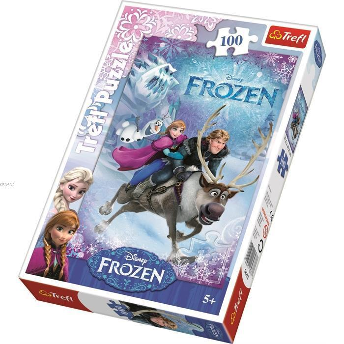 Trefl Puzzle 16273 Frozen, Anne's Rescue 100 Parça