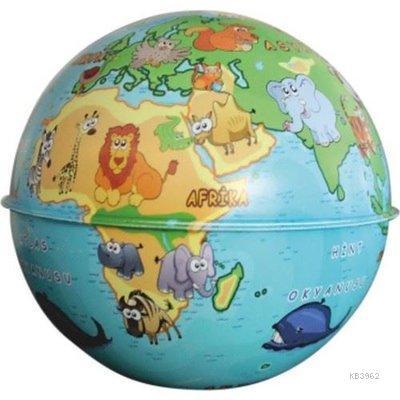 Gürbüz 43103 Globe Bank Hayvanlı Küre 10 Cm