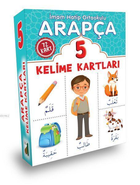 Arapça Kelime Kartları (5. Sınıf)