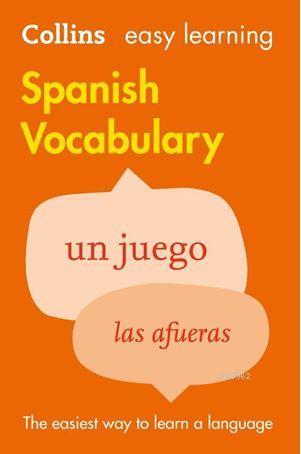 Easy Learning Spanish Vocabulary; (2nd Edition)