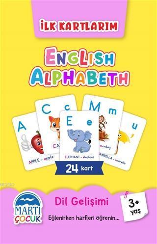 İlk Kartlarım - English Alphabeth