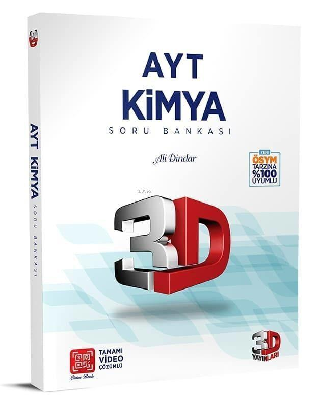 Çözüm Yayınları AYT Kimya Soru Bankası 3D Çözüm