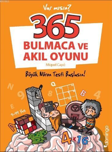 365 Bulmaca ve Akıl Oyunu; Büyük Nöron Testi Başlasın!