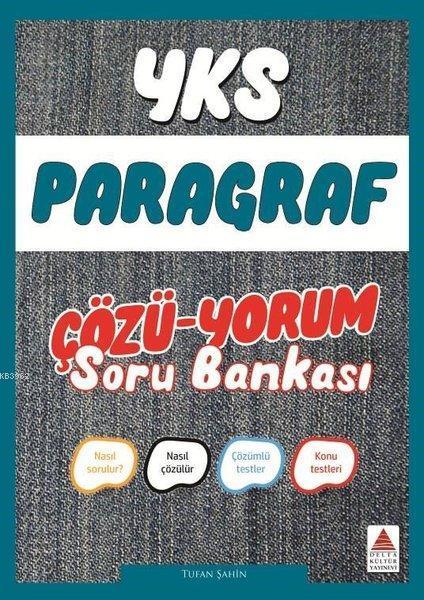Delta Kültür Yayınları YKS Paragraf Çözü-Yorum Soru Bankası Delta Kültür