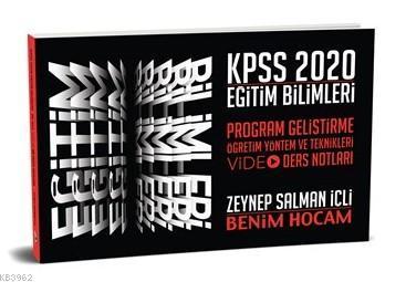 2020 KPSS Eğitim Bilimleri Program Geliştirme Öğretim Yöntem ve Teknikleri Video Ders Notları Benim