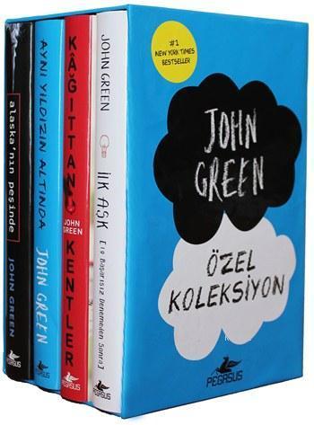 John Green Özel Koleksiyon (Kutulu Set)