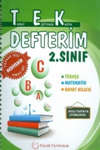 Tek Defterim 2.Sınıf A B C
