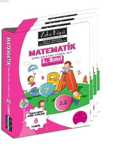 1. Sınıf Matematik Konu Anlatımlı Soru Bankası; Temalarına Göre Ayrılmış 4 Fasikül