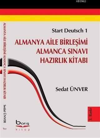 Almanya Aile Birleşimi Almanca Sınavı Hazırlık Kitabı Start Deutsch-1