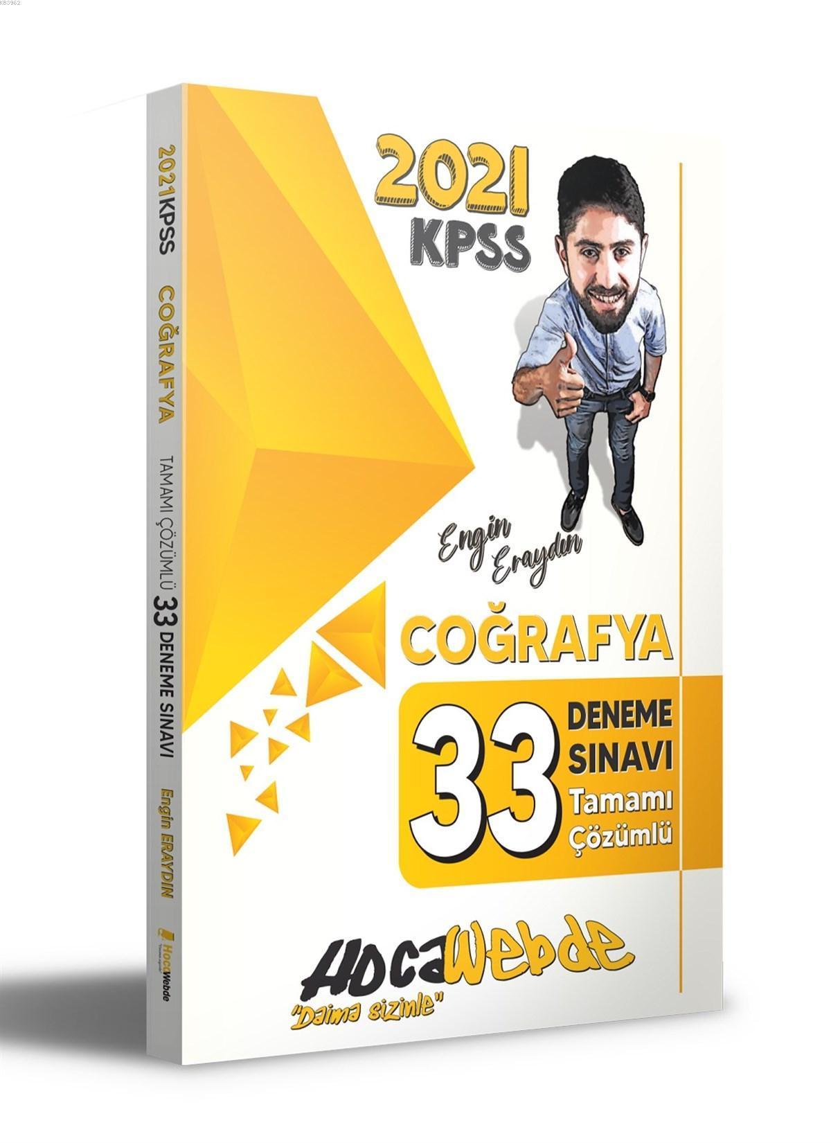 Hocawebde 2021 KPSS Coğrafya Tamamı Çözümlü 33 Deneme