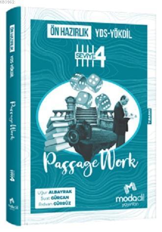 Modadil YDS-YÖKDİL Ön Hazırlık Passagework Seviye 4