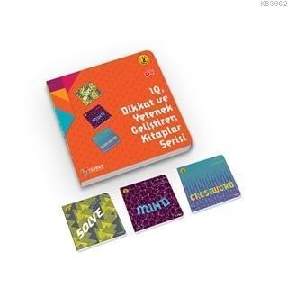 IQ Dikkat ve Yetenek Geliştiren Kitaplar Serisi Level 2 (7-8-9 Yaş) (3 Kitap Takım)