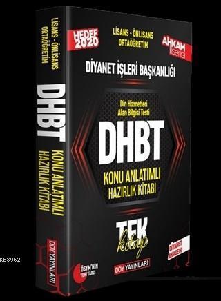 2020 DHBT Ahkam Serisi Tüm Adaylar Konu Anlatımlı Hazırlık Kitabı