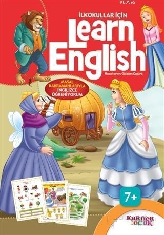 İlkokullar İçin Learn English (Kırmızı); Masal Kahramanlarıyla İngilizce Öğreniyorum