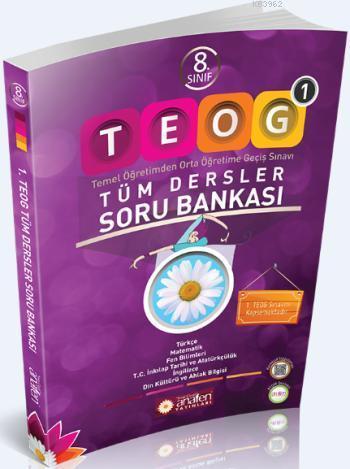 8. Sınıf TEOG 1 Tüm Dersler Soru Bankası