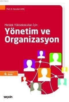 Meslek Yüksekokulları İçin Yönetim ve Organizasyon (MYO)