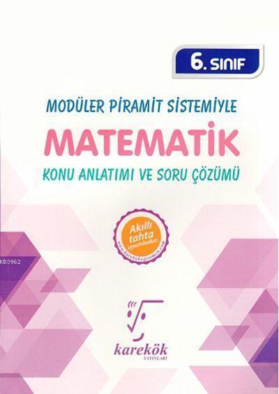 Karekök Yayınları 6. Sınıf Matematik MPS Konu Anlatımı ve Soru Çözümü Karekök